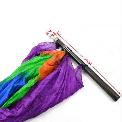 High Quality Empty Pole To Flag Silk Magic Tricks Stage Magic Professional Magician Props - Mirage Novelty World