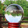 90 mm Contact Juggling Ball Magic Tricks Crystal Ultra Clear 100% Acrylic Ball Manipulation - Mirage Novelty World