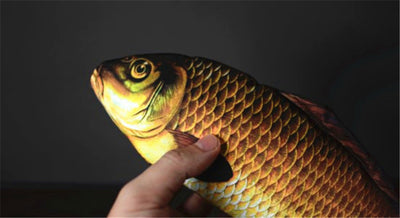 Appearing Fish (28cm) Magic Tricks Fish Appearing From Card Case Magic Magician Stage FISM - Mirage Novelty World