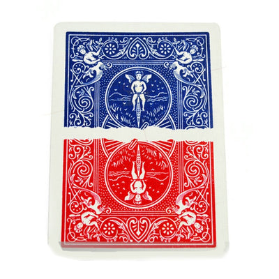 Magic Half Card Color Division ( Bicycle Card) Magic Tricks - Mirage Novelty World