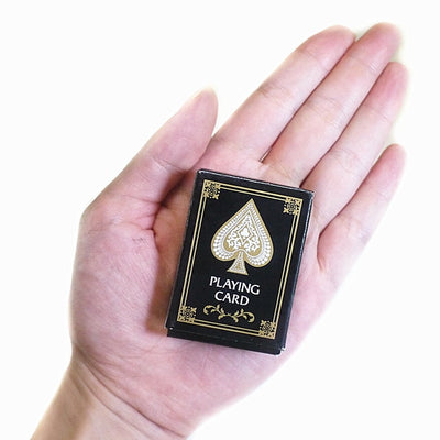 Mini  Playing Cards Magic Tricks Interesting Texas Hold'Em Poker Game Cards Paper Game Outdoor Pokerstars For Travel - Mirage Novelty World