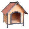 US Dog House Pet Outdoor Bed Wood Shelter Home Weather Kennel Waterproof - Mirage Novelty World
