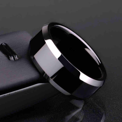 Ring Men Titanium Black - Mirage Novelty World
