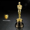 1:1 Oscar Statue Metal Figurines Oscar Trophy Awards Prize In Metal Oscar Craft - Mirage Novelty World