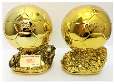 2019 yers Home furnishing golden globe trophy resin football match trophy customized player year award decorated - Mirage Novelty World