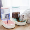 Cat Feeders with 3.8 L Plastic Automatic Feeding
