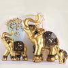 Golden Elephant Crafts  for Home Decor