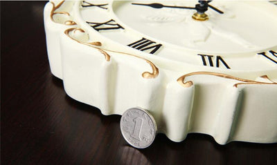 Retro Wall Clocks with Luxury European Design for Home Decor