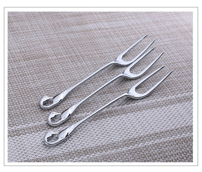 Forks Spoons and Swan Spoon Holder with 304 Stainless Steel for Dinnerware Set