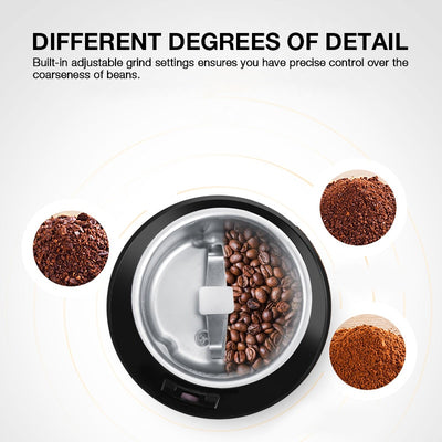 Coffee Bean Electric Grinder Machine