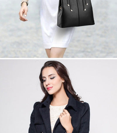 Luxury Casual Handbags with High Quality PU Women Bag Style