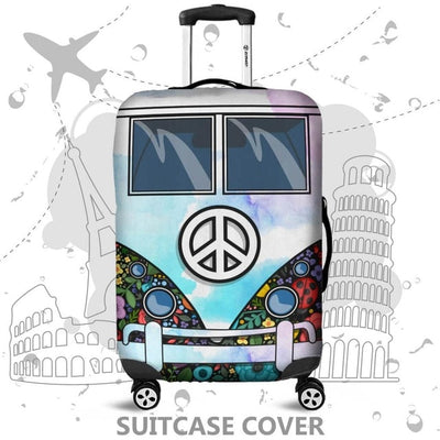 High Quality Luggage Cover Protector with 18-32 Inch Elastic Suitcase Cover