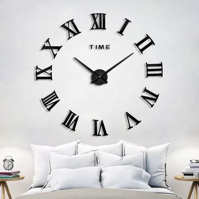 New Wall Clocks with Large Size DIY  Wall Sticker