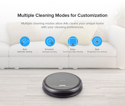 Robot Vacuum Cleaner with Powerful suction and Remote Control