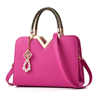 Leather Women Handbags with Creative Design for Women Bag