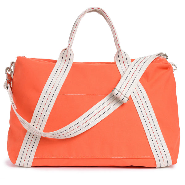 a-frame weekend duffel - orange
