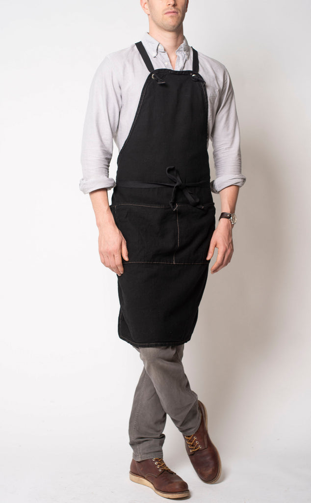 Full Apron - black