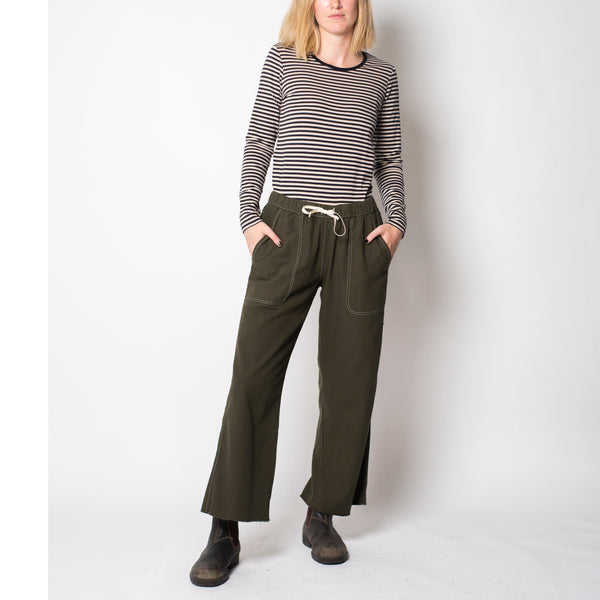 beach pant olive