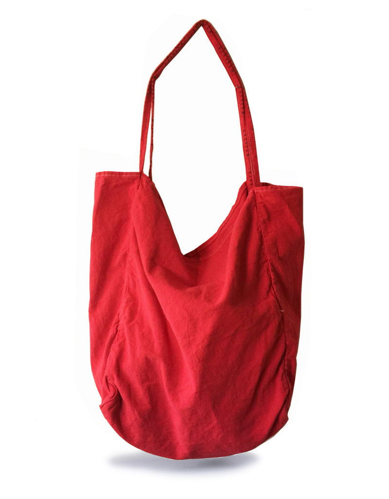 errand tote - red