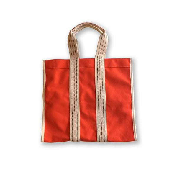 logger tote -orange