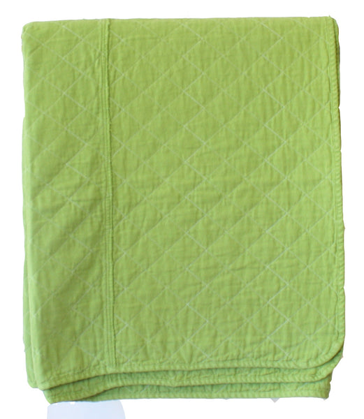 Coverlet - leaf green