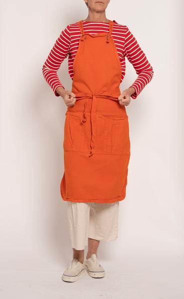 Full Apron - orange