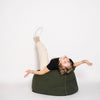 bean bag chair olive