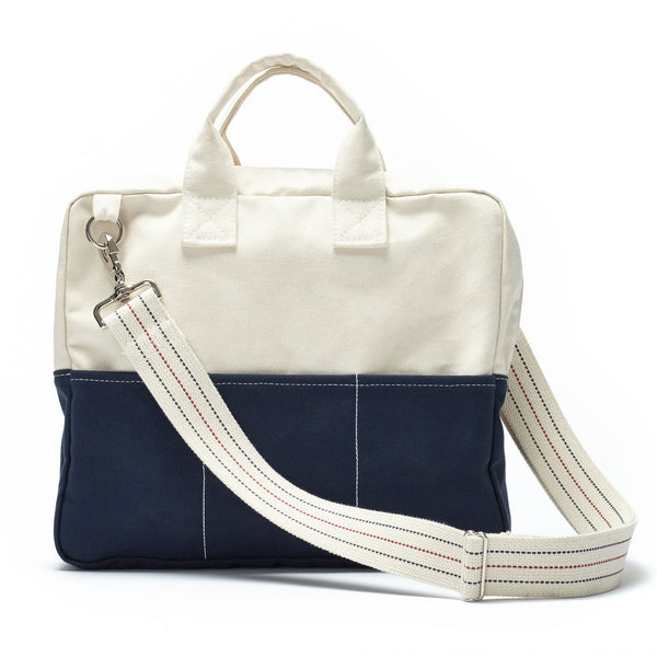 debrief bag - navy