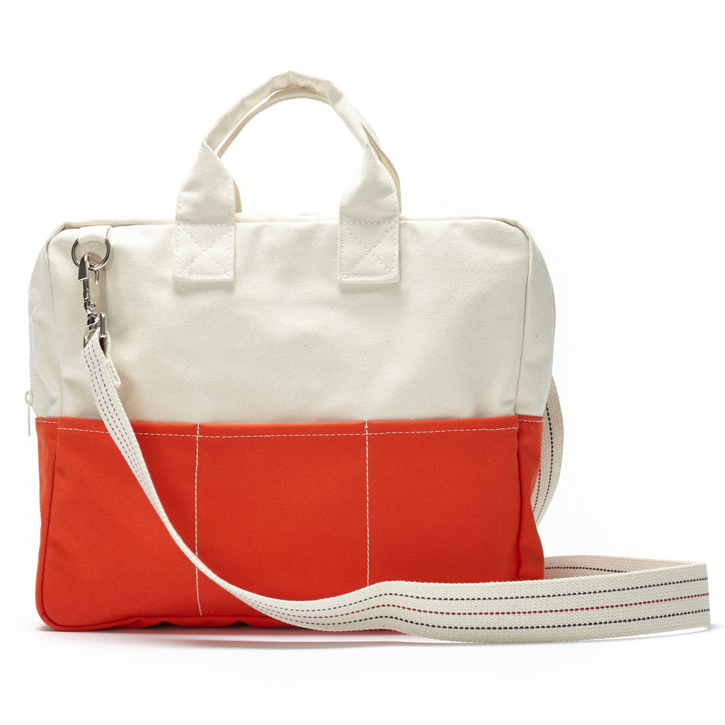 debrief bag - orange