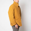quilted snap jacket - honey