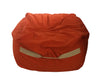bean bag chair orange