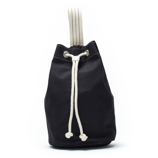 SINGLE STRAP DUFFLE - BLACK