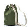 SINGLE STRAP DUFFLE - OLIVE