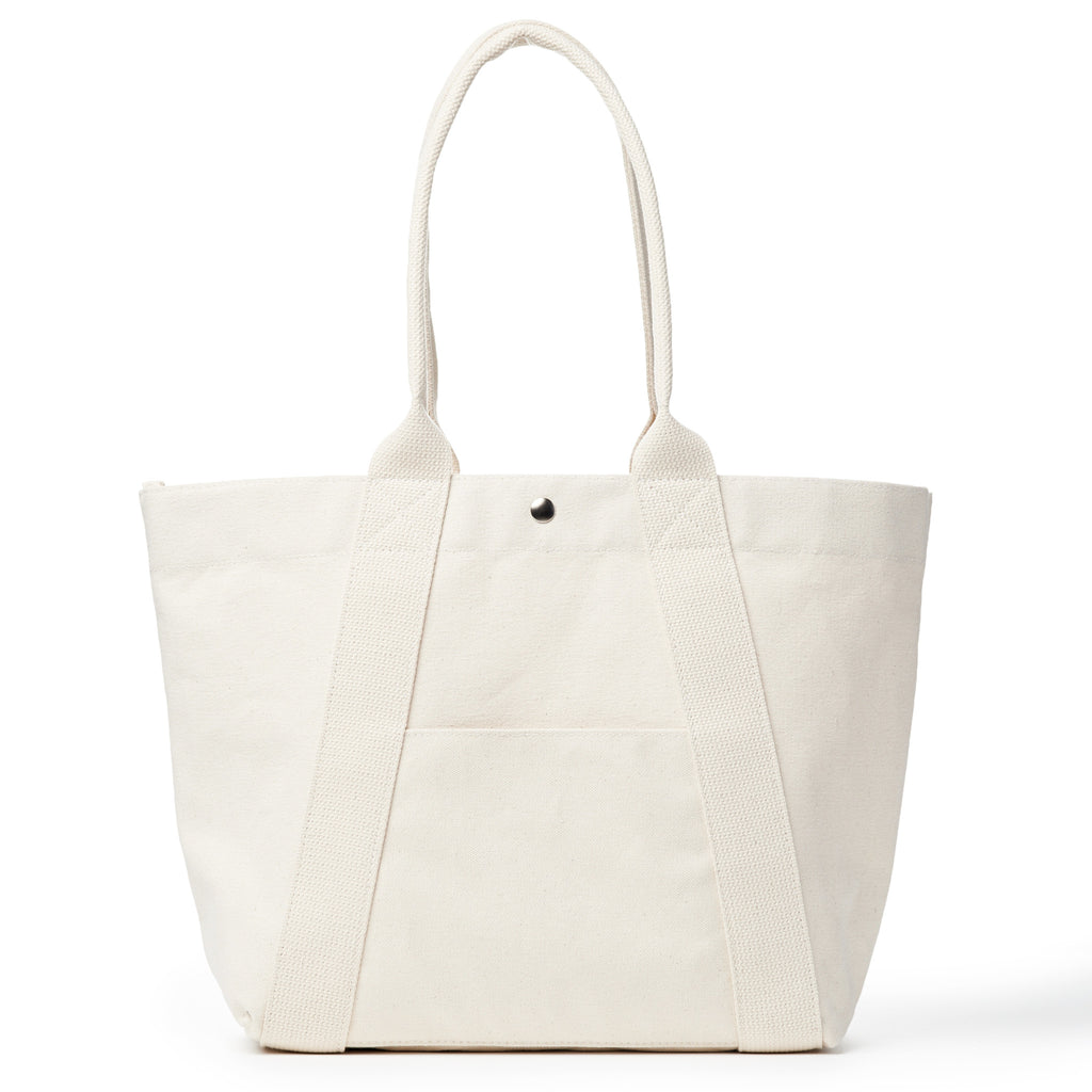 a-frame tote - solid natural