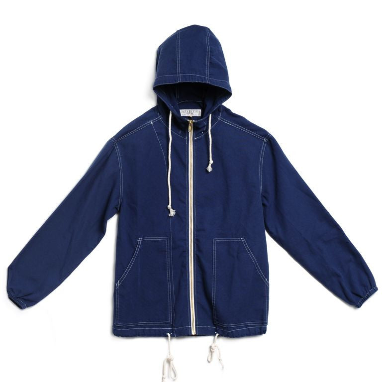 beach jacket - navy