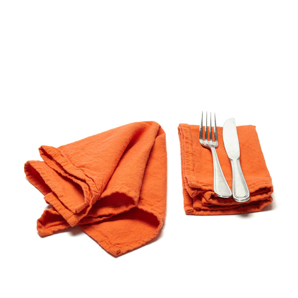 Napkins - orange