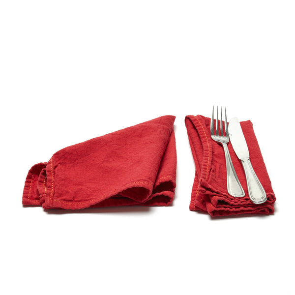 NAPKINS - RED