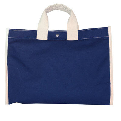 classic field bag - navy/natural
