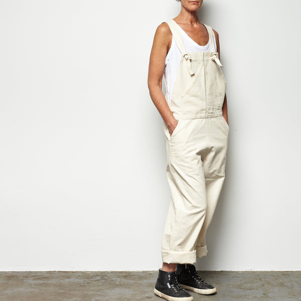 overalls - natural