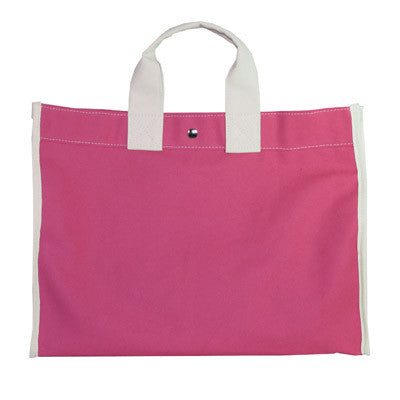 classic field bag - pink/natural