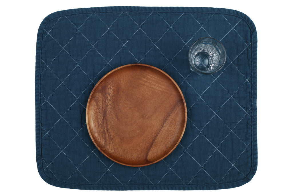 Quilted Placemat - teal