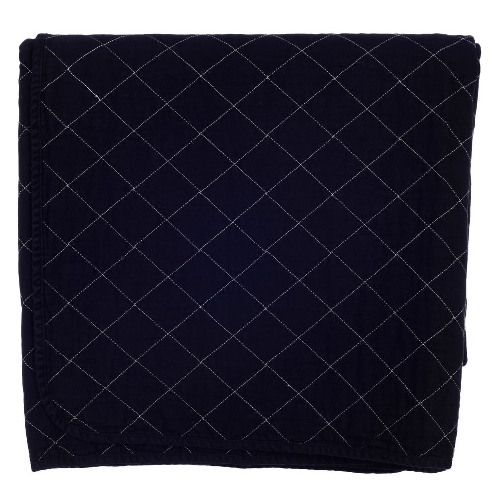 Throw Blanket - black