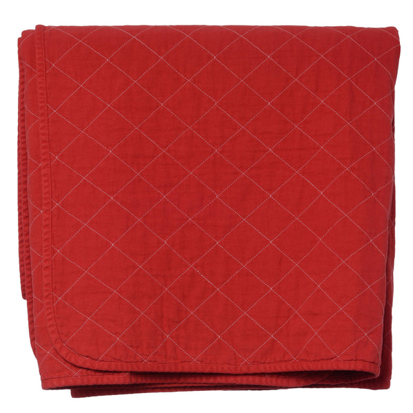 Coverlet - china red