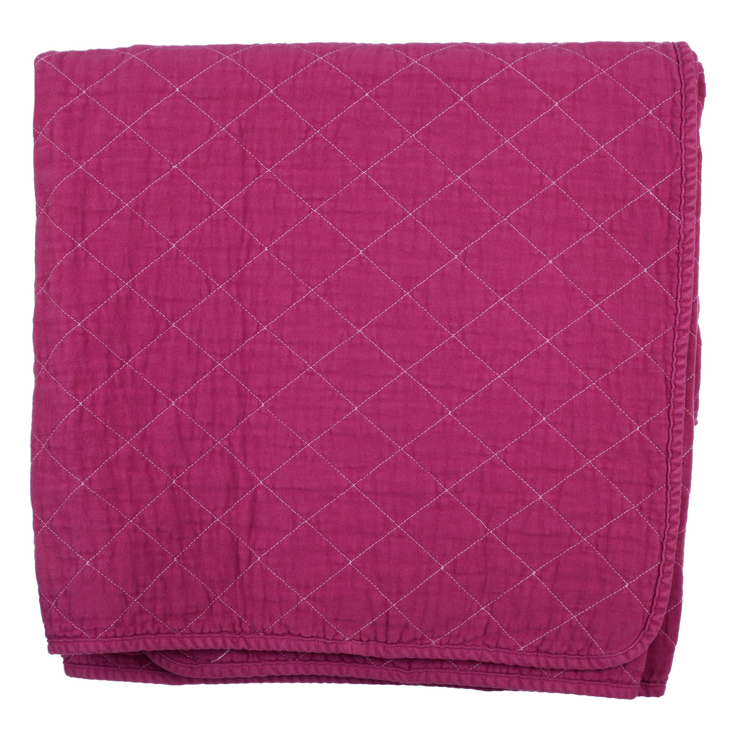 Coverlet - fuschia