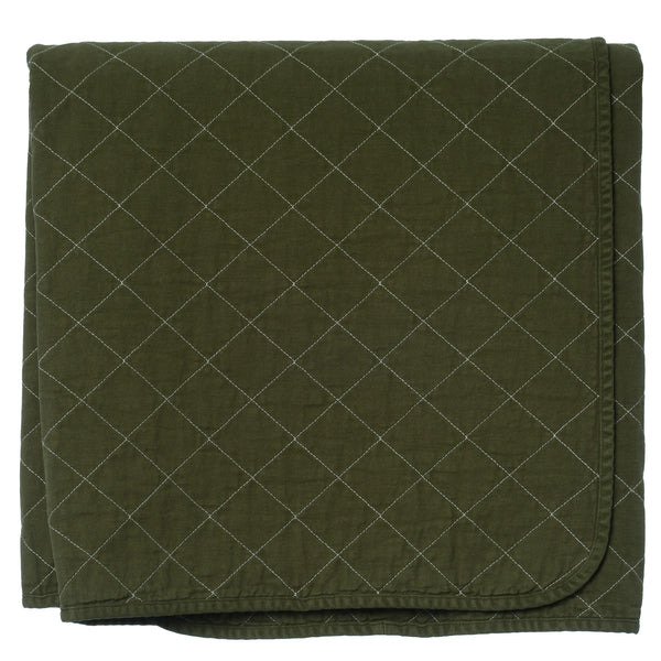 Throw Blanket - olive
