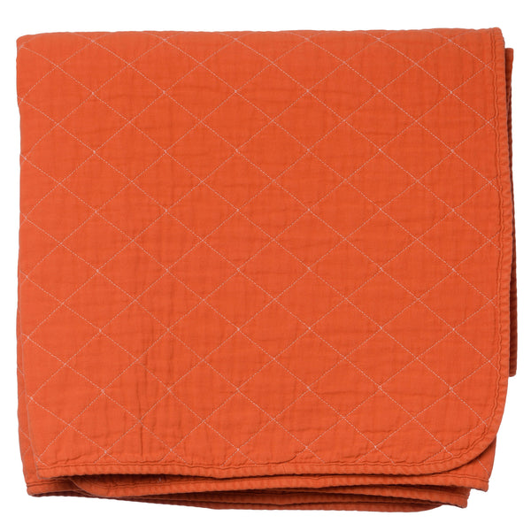 Throw Blanket   Orange