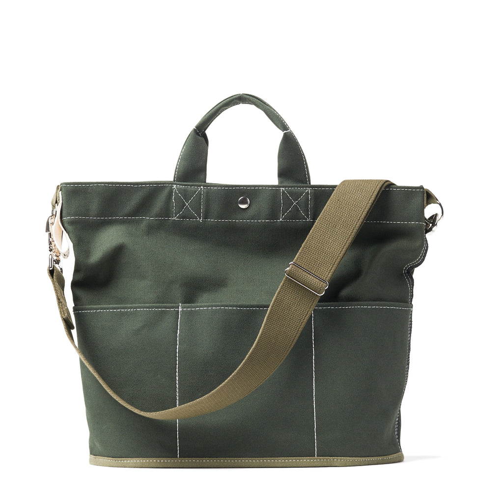 bucket tote - olive