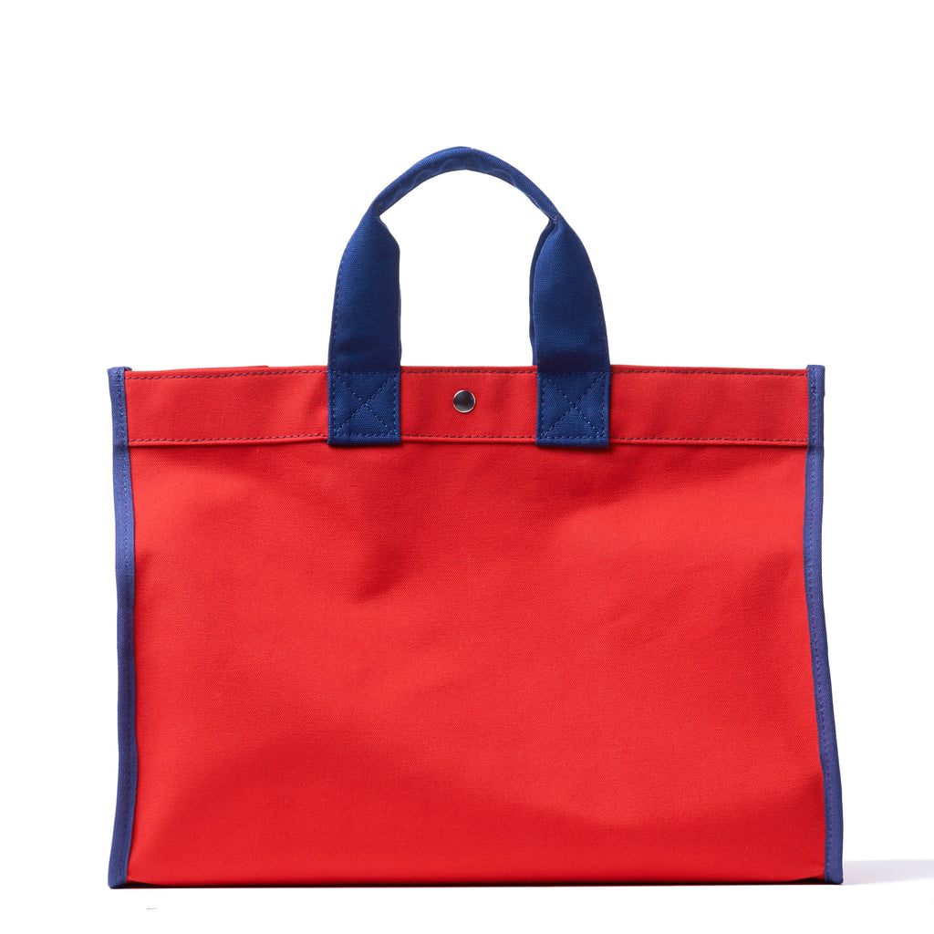 classic field bag - red/navy
