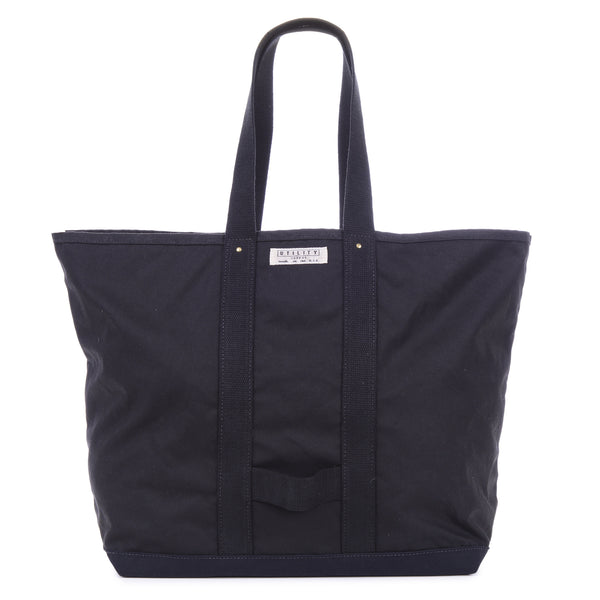 Waxed Coal Bag - black