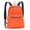Waxed Backpack - orange